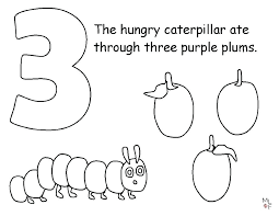 The Very Hungry Caterpillar Coloring Book Very Hungry Caterpillar