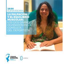 Icopcv Colegiados - Dª Elena Escamilla también ha confirmado su ...