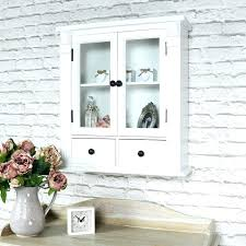 white bathroom wall cabinet with glass doors white display cabinet white glazed bathroom wall cabinet display