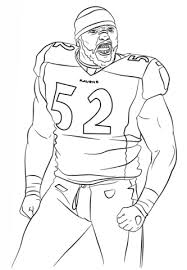 Ray Lewis Coloring Page Free Printable Coloring Pages