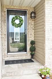 wreath hanger for glass door glass designs