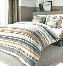 orange and gray bedding bedspread sets comforter set king size duvet cover red throw striped charcoal