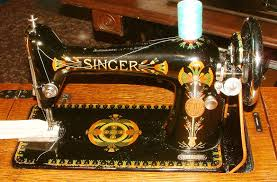 Antique Singer Sewing Machine Decals