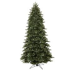 GE 9 Ft PreLit LED Just Cut Frasier Fir Artificial Christmas Artificial Christmas Tree 9ft
