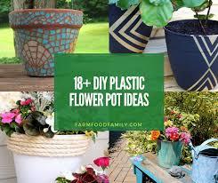 18 creative diy plastic flower pot