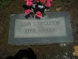 Effie Rhodes - Find A Grave Memorial