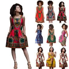 African Pattern Dress Unique AFRICAN PRINT DASHIKI DRESS ADDICTED48FASHION