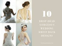 Pepsi Herrera Designs Wedding Dress Back Designs To Die For Philippines Wedding Blog
