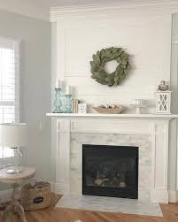spark an instant warmth with this fireplace surround tile design hampton carrara polished amalfi marble mosaic tile 12 x 12 in