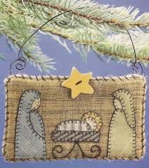 Nativity Quilt Ornament | Quilted ornaments, Ornament and ... & Nativity Quilt Ornament Adamdwight.com