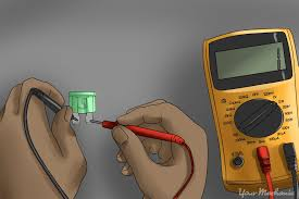 how to fix a car horn yourmechanic advice How To Test Wiring Harness With Multimeter checking fuse with a multimeter how to check wiring harness with multimeter
