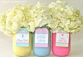 How To Use Mason Jars For Decorating DIY Spring Mason Jars and Free Tags I Heart Nap Time 86