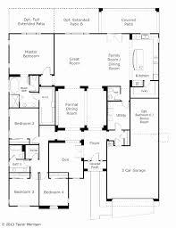 floor plan of a one story house. Open Floor House Plans One Story With Basement Lovely Plan For E Best Of A