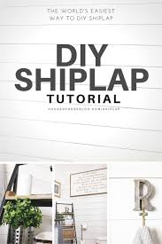diy shiplap tutorial how to diy a white wood wall easy and inexpensive