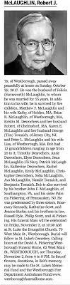 Obituary for Robert j. Mclaughlin (Aged 79) - Newspapers.com