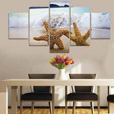 Modern Wall Decorations For Living Room Online Get Cheap Starfish Wall Art Aliexpresscom Alibaba Group