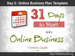 Online Business Plan Template Free Download Day 5 Online Business Plan Template Free Download