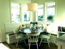 Image Round Breakfast Nook Booth Seating Kitchen Table Furniture Evohairco Kitchen Booth Furniture Evohairco