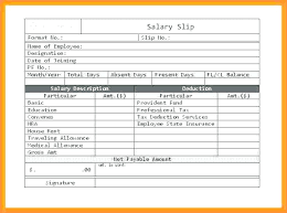 Employee Salary Slip Sample Classy Salary Receipt Template Get Employee Pay Slip Format Free Templates