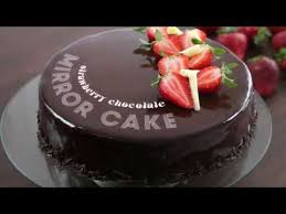 Strawberry Chocolate Mirror Cake Recipe Amazing Cakes Decorating