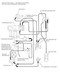 1999 Toyota Camry Vacuum Hose Diagram