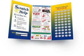Scratch Card Fundraiser 90 Profit Abc Fundraising