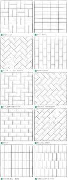 white subway tile patterns. Plain Patterns Subway Tile Designs Inspiration Throughout White Patterns O