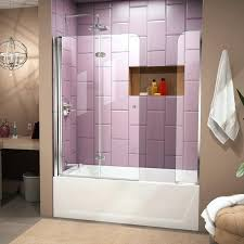 dreamline bathtub doors essence shower door installation aqua fold x folding tub