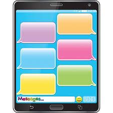 Smart Chart Cell Phone Emoji 17x22 Smart Chart Poly Chart