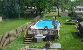 intex above ground pool decks. Brilliant Intex Intex Above Ground Pool Decks Oval Pools Amazing With From  Landscaping Around With Intex Above Ground Pool Decks