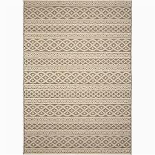 8x10 indoor outdoor rug style allen roth ottolin sand indoor outdoor coastal area rug