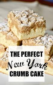 Check with a toothpick in the center of the cake to ensure that is done. New York Crumb Cake Recipe With Video Smells Like Home