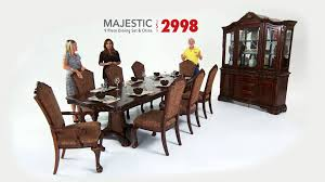 Bobs Furniture Kitchen Table Set Majestic Dining Room Sets Bobs Discount Furniture Youtube