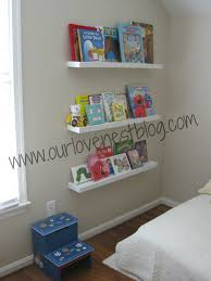 our love nest diy wall hung bookshelf reading corner bookshelves build the room had such fun