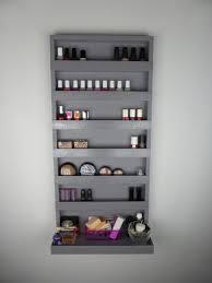 White Makeup Organizer Makeup Storage White Make Up Organizer Display Bathroom Storage