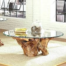 tree stump coffee table tree trunk coffee table coffee table with tree trunk base tree trunk