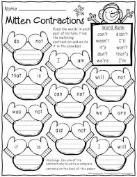january winter print and do 1st grade no prep math and literacy practice
