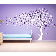 cherry blossom wall decal cherry blossom tree wall decal white cherry blossom tree wall decal