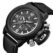 Wholesale Designer Watches Wholesale Watches Mens Luxury Brand Watch Leather Band Date Quartz Wrist Watch Unique Designer Watches Relojes Lujo Marcas Men