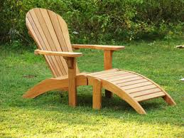 adirondack chairs. Teak Adirondack Ottoman Chairs
