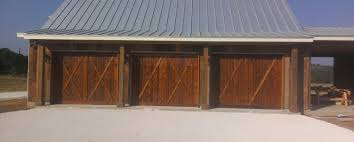 barn door garage doorsResidential Garage Doors San Antonio  Hill Country Overhead Doors