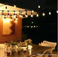 led bulb waterproof string lights indoor outdoor commercial grade street garden patio backyard holiday lighting globe