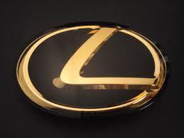 gold lexus logo. Fine Logo New Lexus LS460 LEXUS Letter Emblem For Gold Logo O