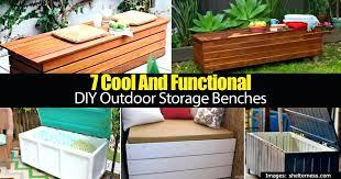 cedar bench plans outdoor storage bench 7 cool and functional outdoor storage benches outdoor cedar storage