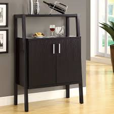black lacquer wine bar cabinet with storage and open shelf plus dual swing door also square bar furniture designs