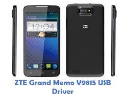 ZTE Grand Memo V9815 USB Driver ...