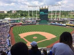Kauffman Stadium Section 421 Home Of Kansas City Royals