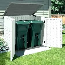 garbage can enclosure outdoor garbage can storage refuse storage shed outdoor trash can storage outside garbage cans within refuse shed decor 6 wooden trash