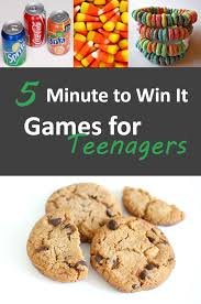 5 minute to win it for teenagers