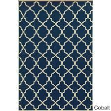 new blue trellis rug and navy trellis rug 56 hampton bay blue trellis outdoor rug
